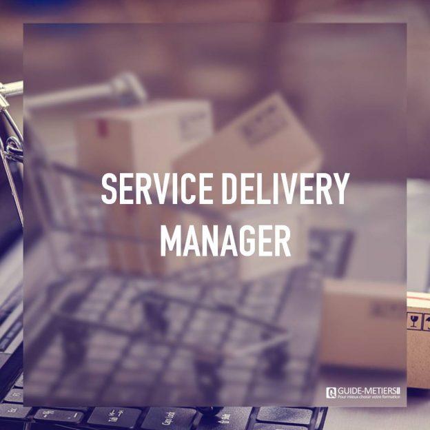Un poste de travail d'un service delivery manager (SDM)