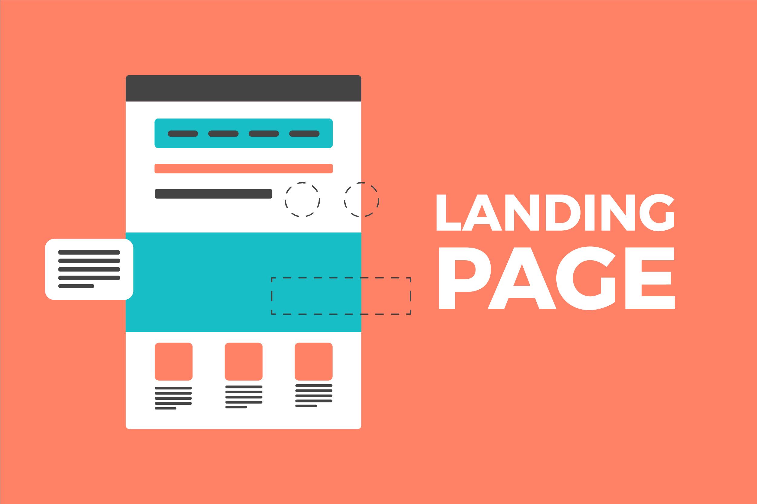 Template d'une Landing Page