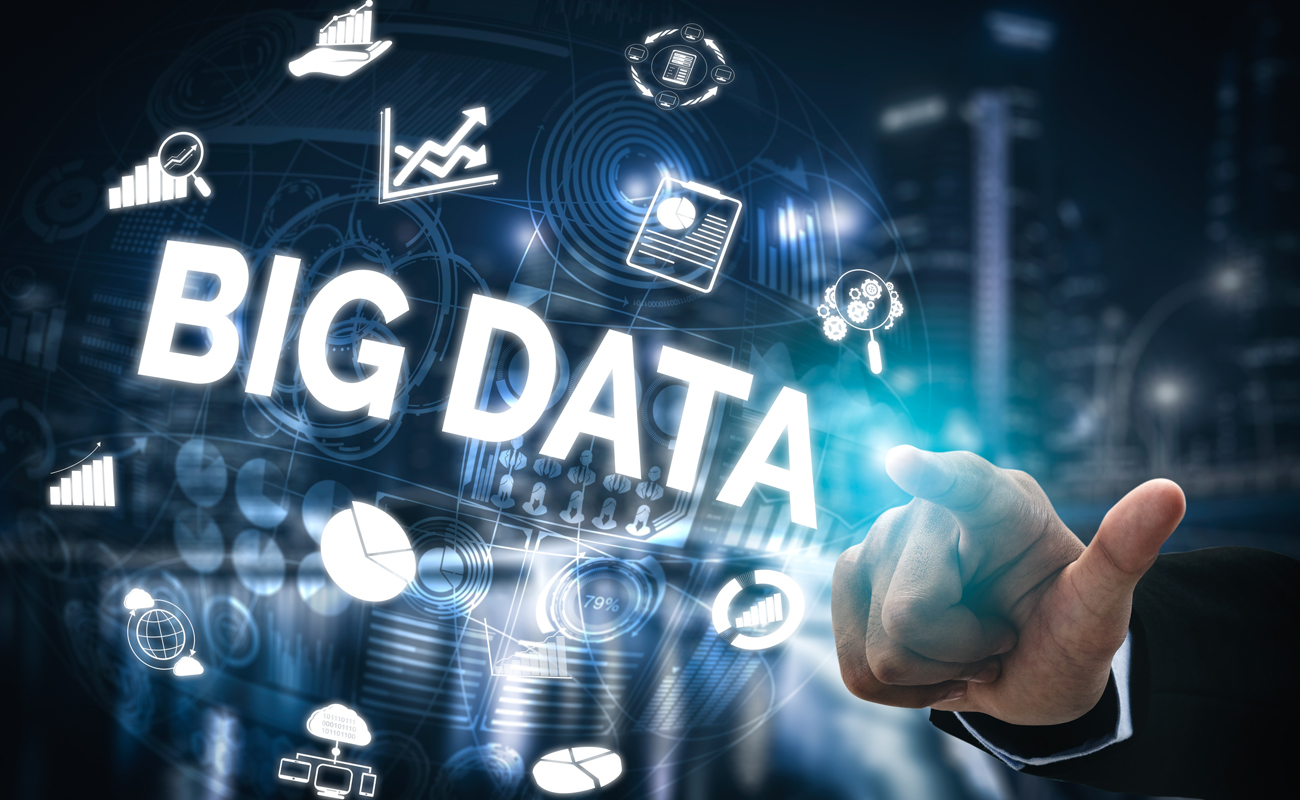 Globe terrestre avec la mention Big Data