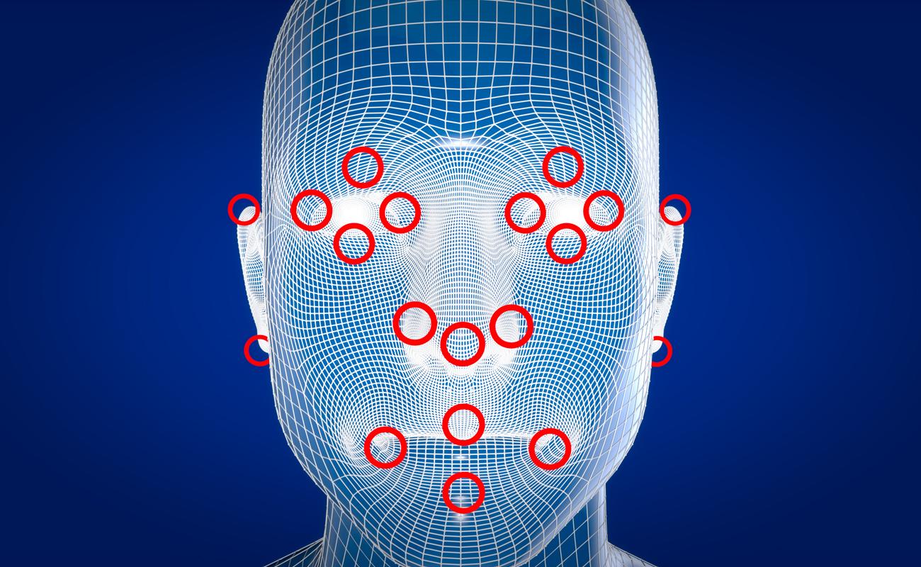 Reconnaissance faciale et identification des points nodaux d'un visage