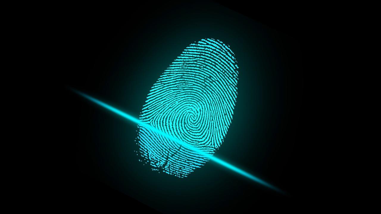 Scanner de l'empreinte biométrique